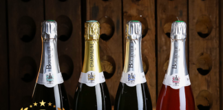 Champagne Bourcier at America Wines Paper