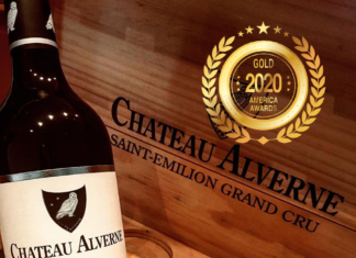 Chateau Alverne at America Wines Paper