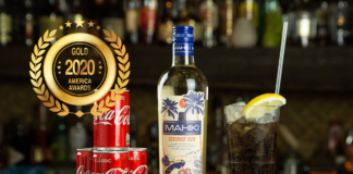 MAHIKI Coconut Liqueur at America Wines Paper