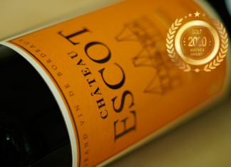 Chateau ESCOT at America Wines Paper