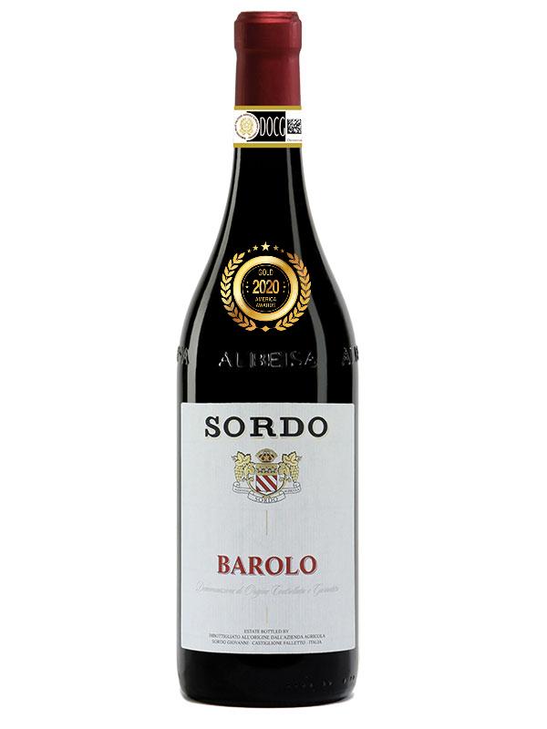 SORDO BAROLO DOCG 2016 at America Wines Paper